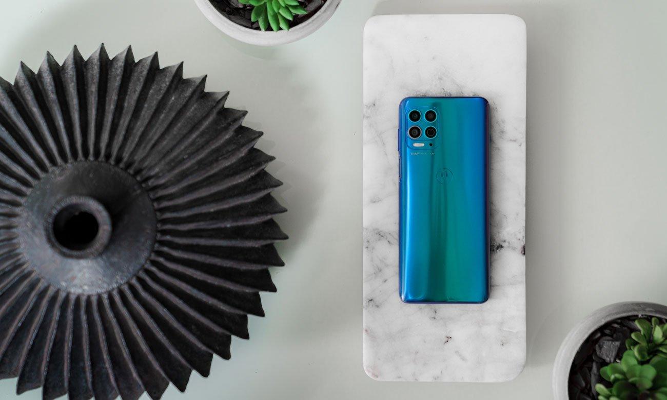 Smartfon Motorola Moto G100 niebieski