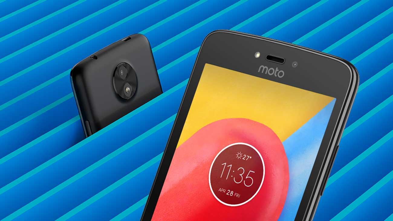Motorola Moto C aparat 5 mpix dwie lampy błyskowe