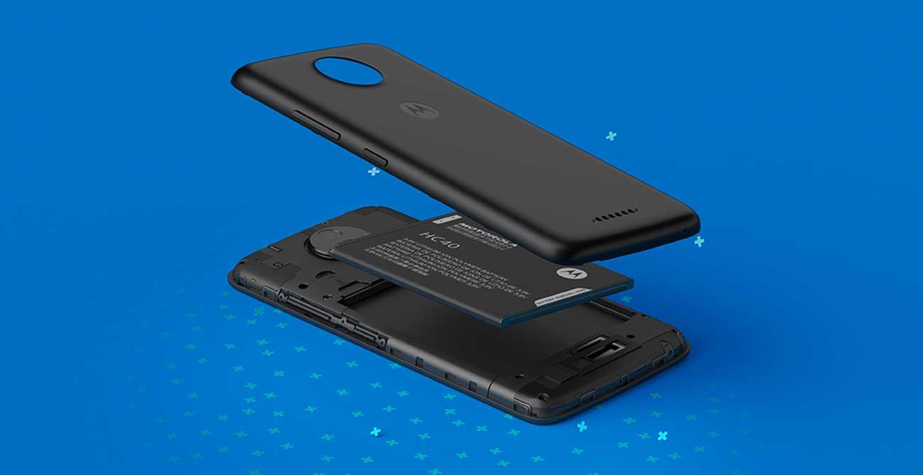 Motorola Moto C bateria 2350 mAh Quick Charge