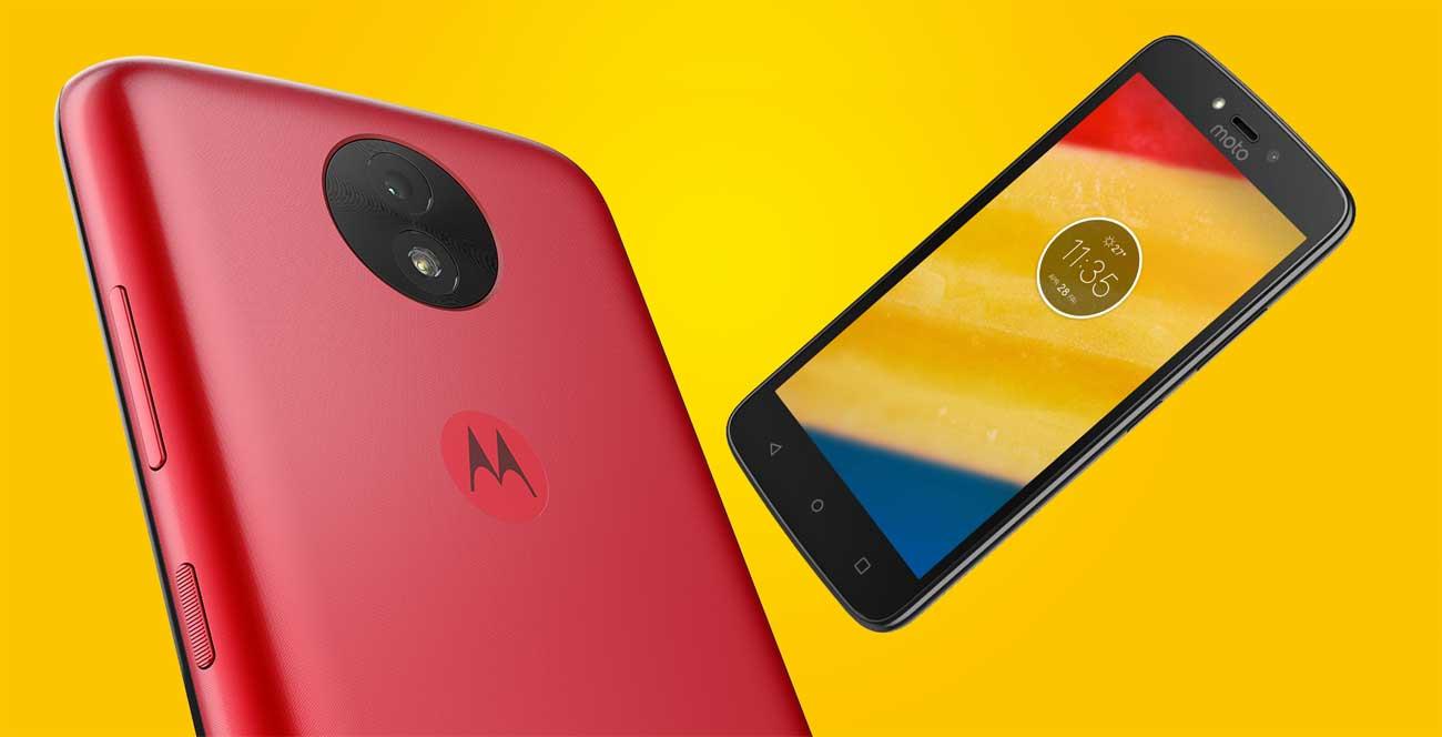 Motorola Moto C plus czterordzeniowy procesor MediaTek 4G LTE