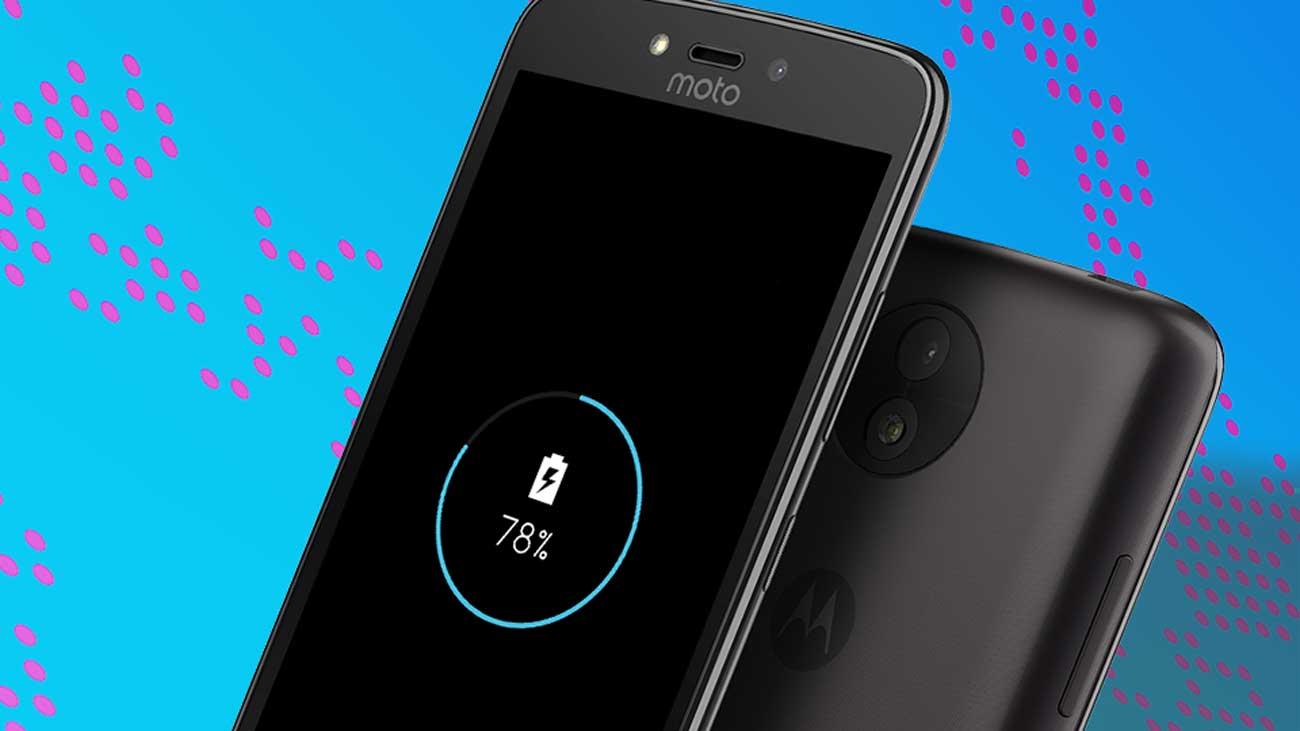 Motorola Moto C plus bateria 4000 mAh Quick Charge
