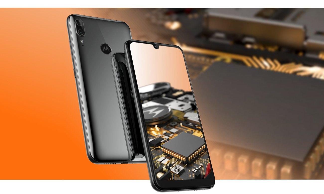 Motorola Moto E6 Plus 8-rdzeniowy procesor Helio P22