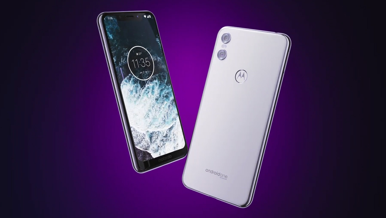 Motorola One android oreo asystent lens