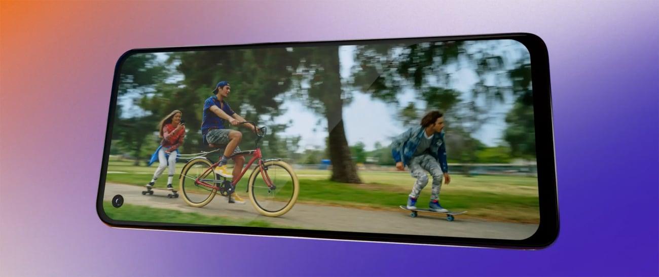 Motorola One Action dynamiczne filmy quad pixel