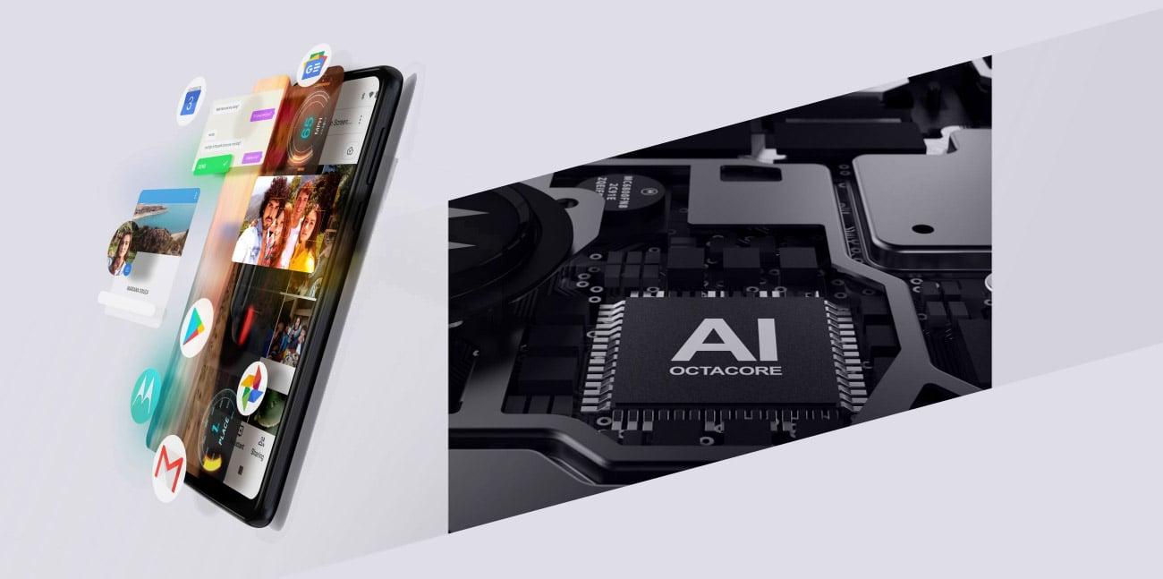 Motorola One Action 8-rdzeniowy procesor Helio P70