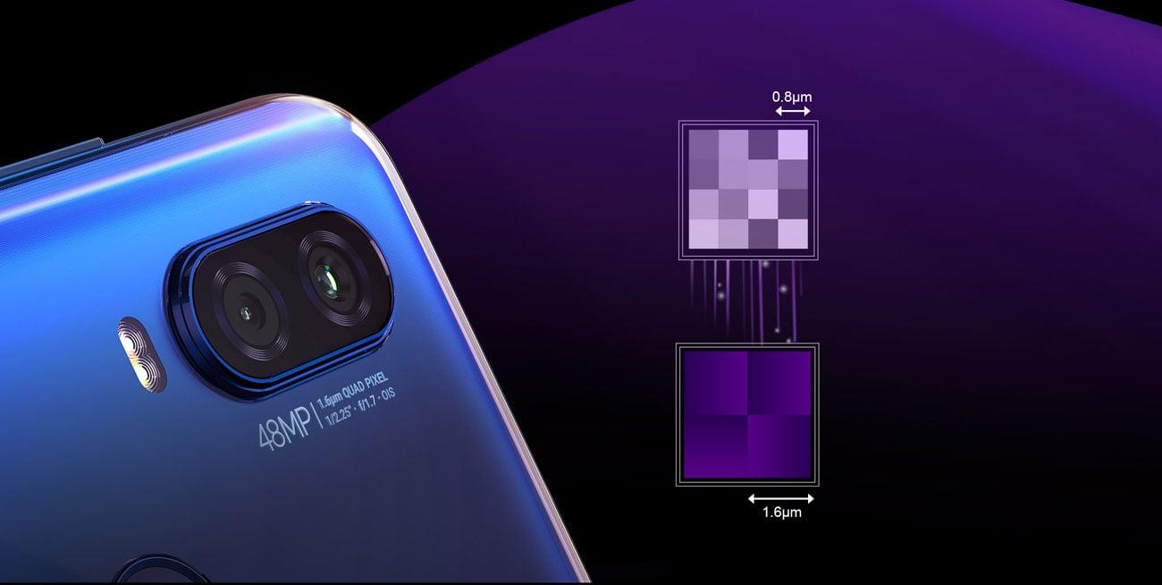 Motorola One Vision aparat 48 mpix quad pixel