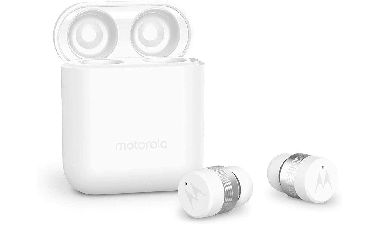 Słuchawki bezprzewodowe Motorola Verve Buds 110 Białe