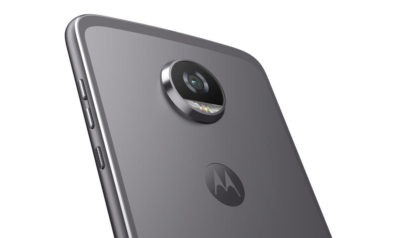 Motorola Moto Z2 Play aparat 12 mpix dual pixel