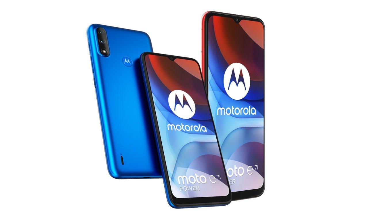 Smartfon Motorola Moto E7i Power 32 GB Coral Red