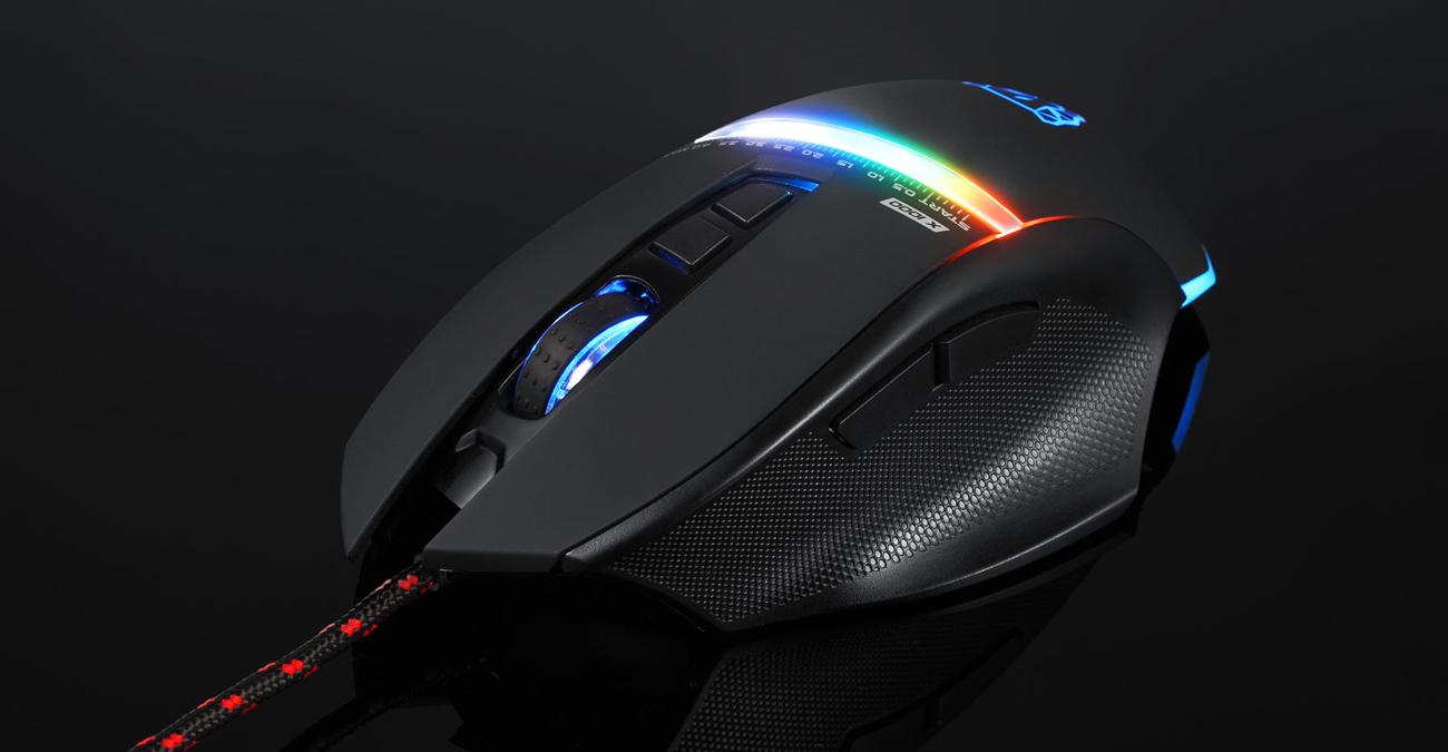 Motospeed V10 przewodowa mysz dla graczy