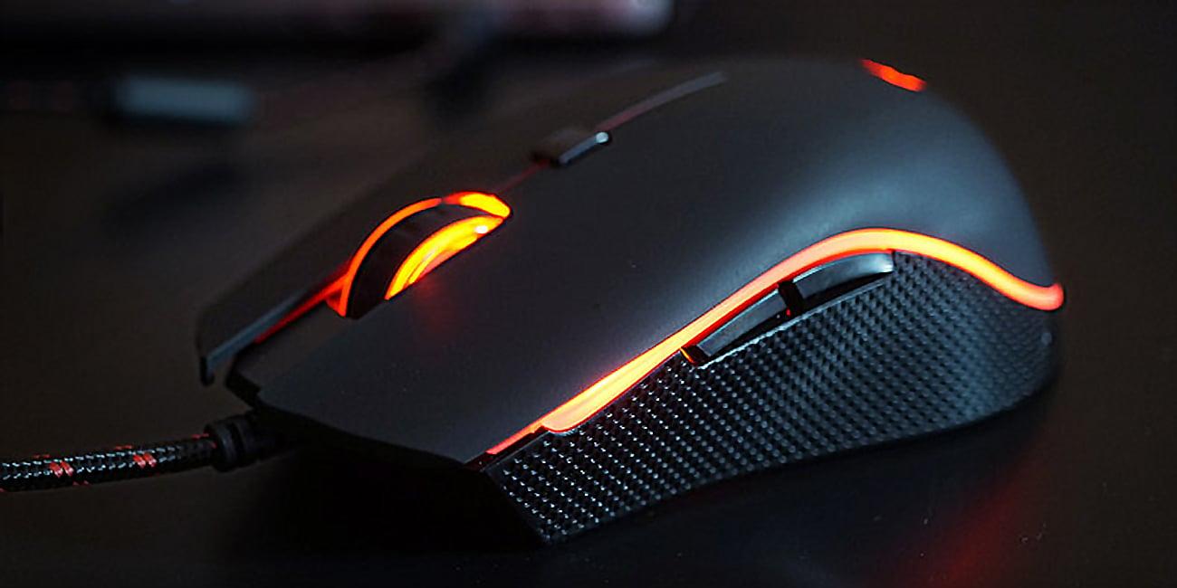 Motospeed V40 przewodowa mysz dla graczy