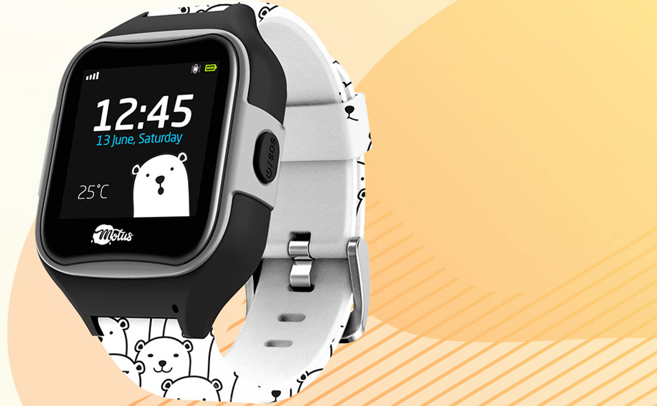 Smartwatch dla dzieci Motus Watchy