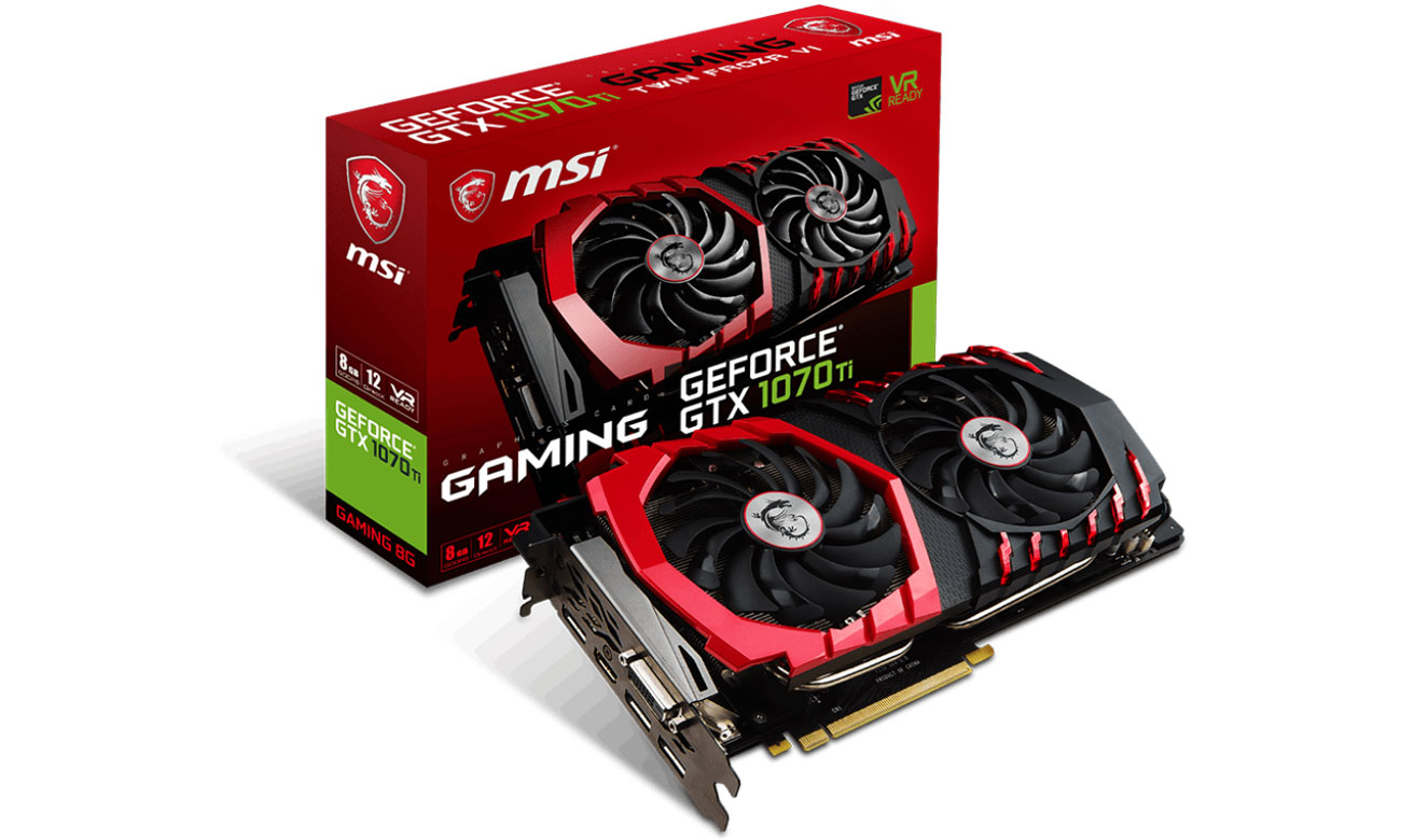 Karta graficzna GeForce GTX 1070 Ti GAMING 8GB