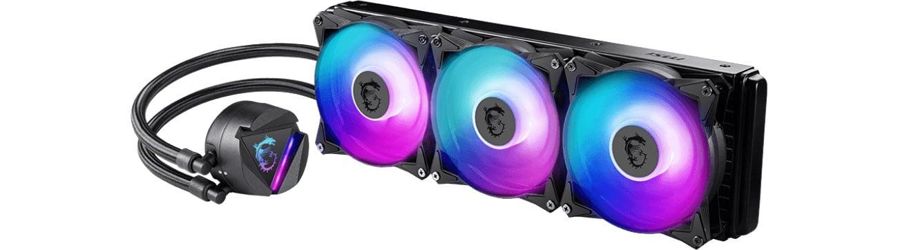 Chłodzenie procesora MSI MAG Core Liquid 360R 3x120mm 306-7ZW1C31-813