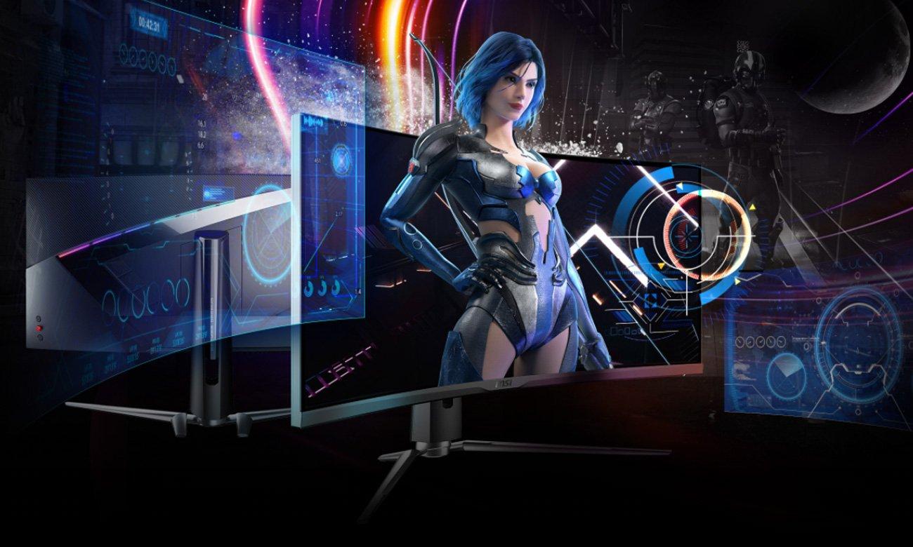 Monitor dla graczy MSI MPG ARTYMIS 343CQR