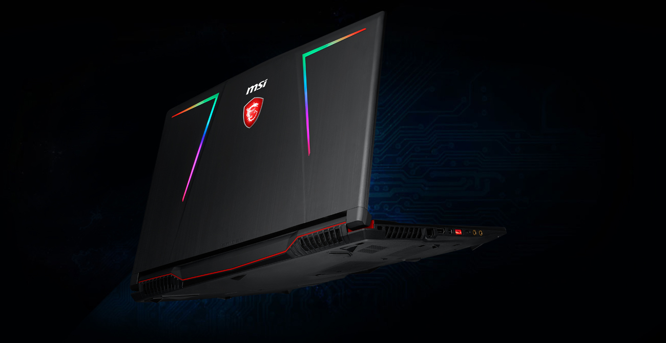 MSI GE63 chłodzenie laptopa