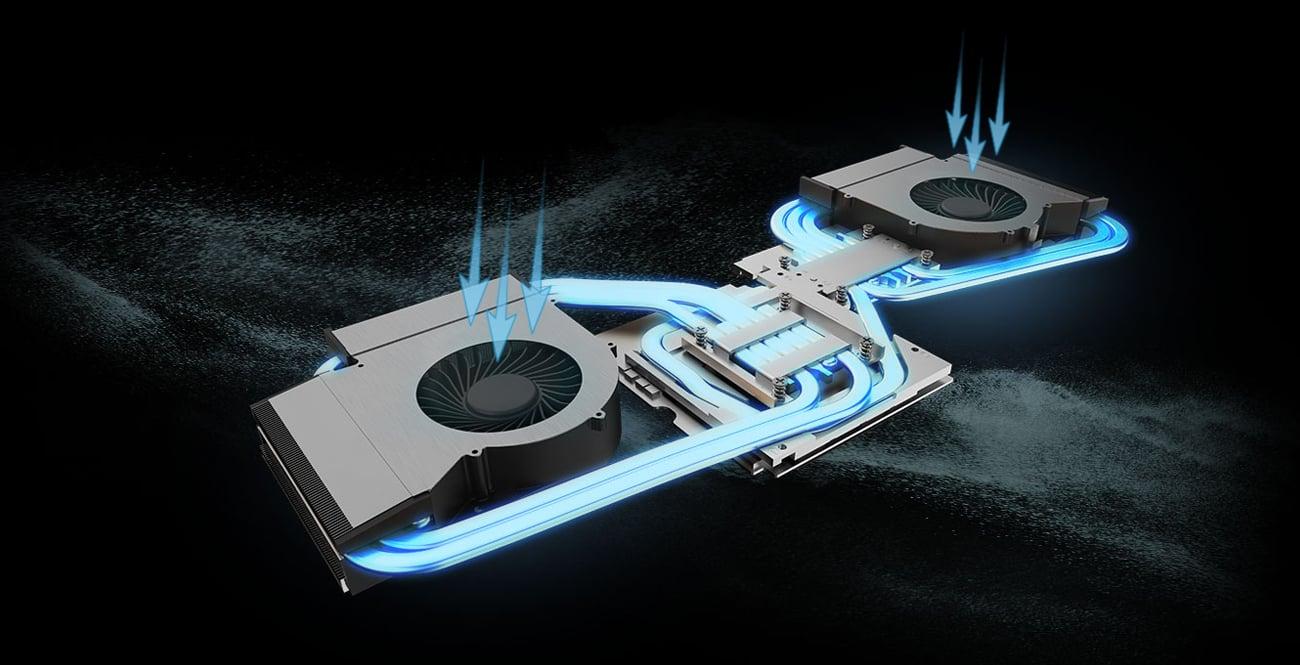 MSI GT75 system chłodzenia