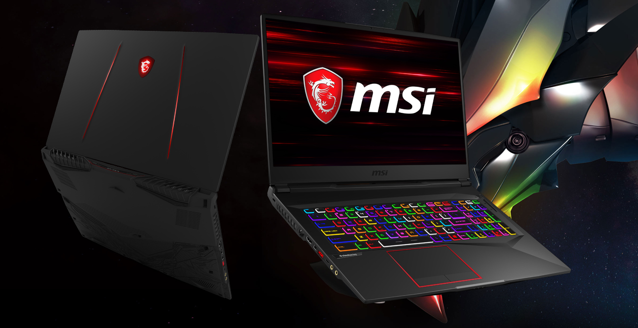 MSI GE75 laptop gamingowy