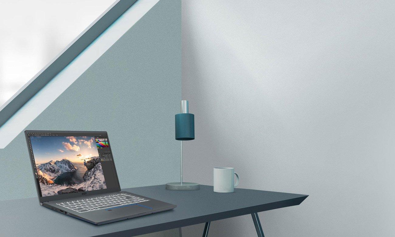 Wydajny laptop Prestige 15