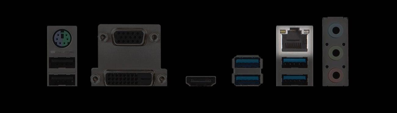MSI A320M PRO-M2 Złącze Gigabit Ethernet LAN
