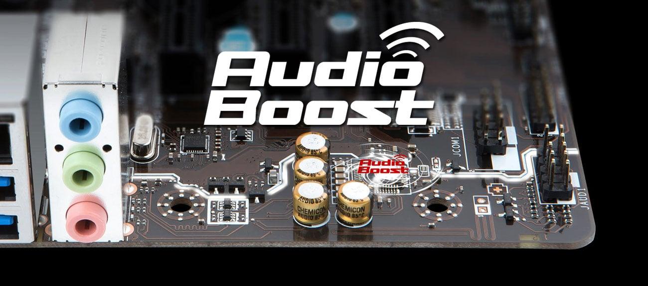 MSI A320M PRO-VD/S V2 Audio Boost
