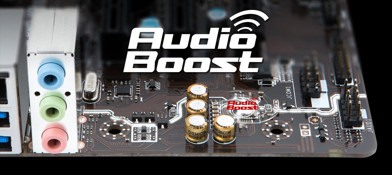 MSI A320M PRO-VD/S Audio Boost