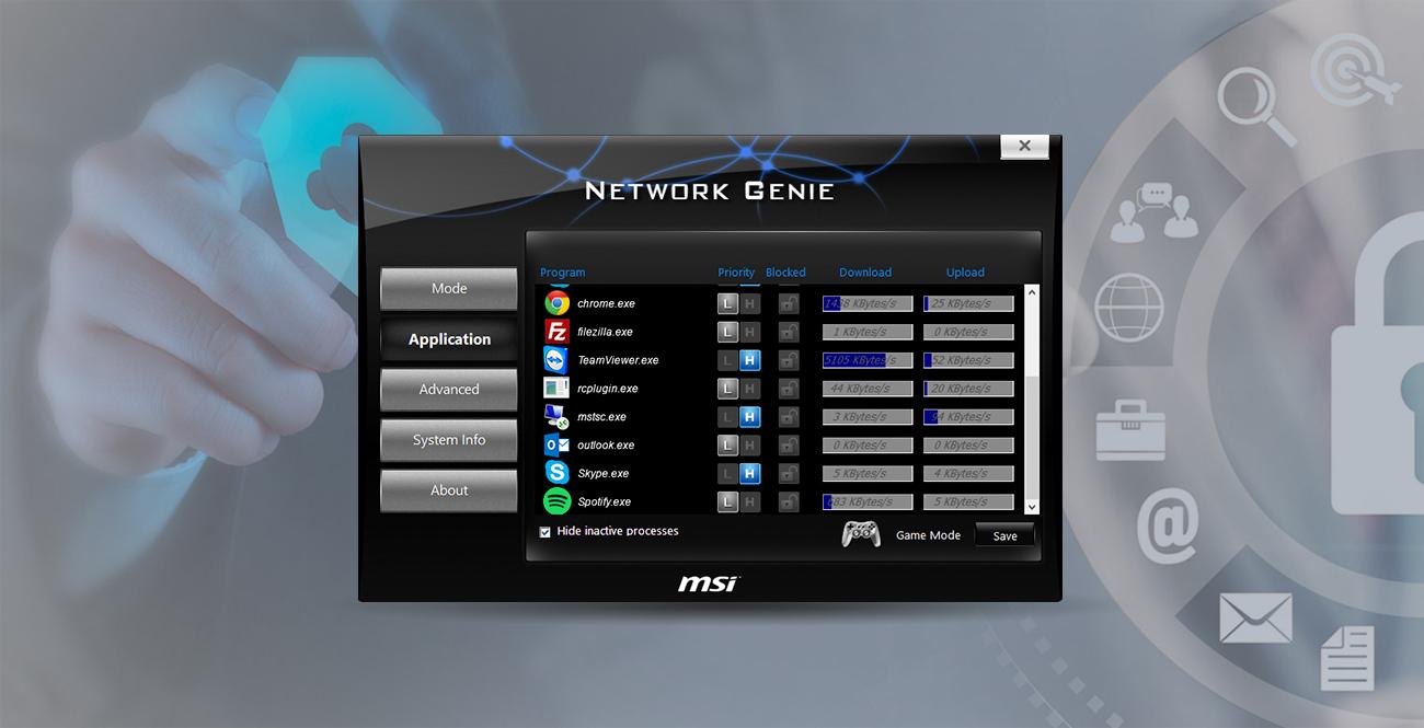 MSI A320M PRO-VD/S Network Genie