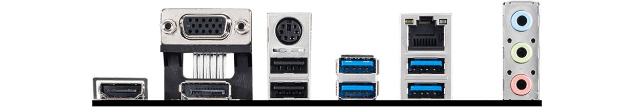 MSI A520M PRO - Złącza