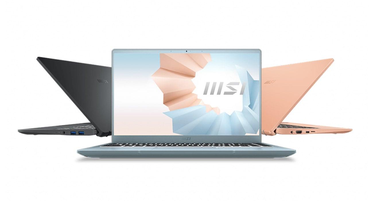 Laptop ultramobilny MSI Modern 14