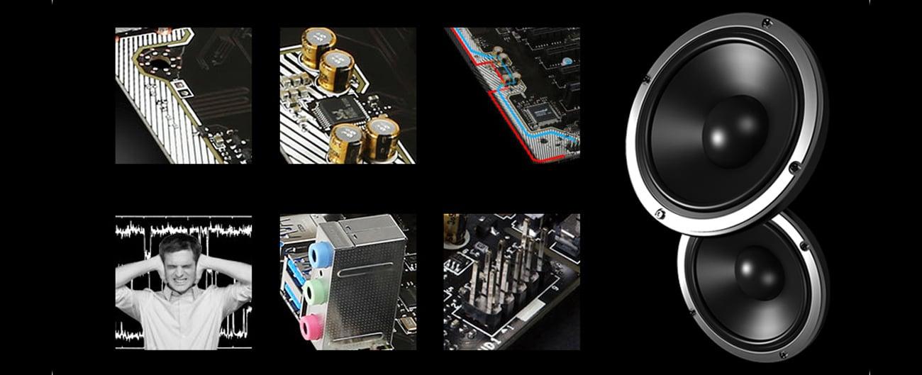 MSI H110M PRO-D Technologia Audio Boost