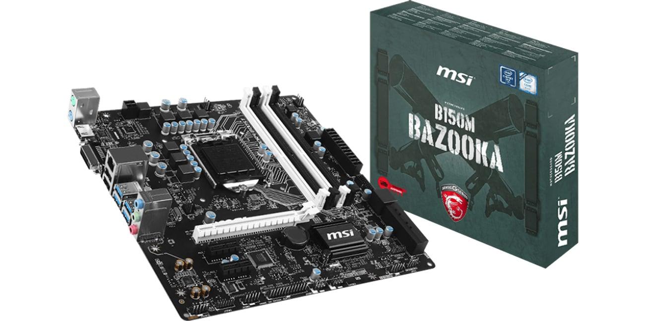 Płyta główna s1151 MSI B150M BAZOOKA (B150 PCI-E DDR4)