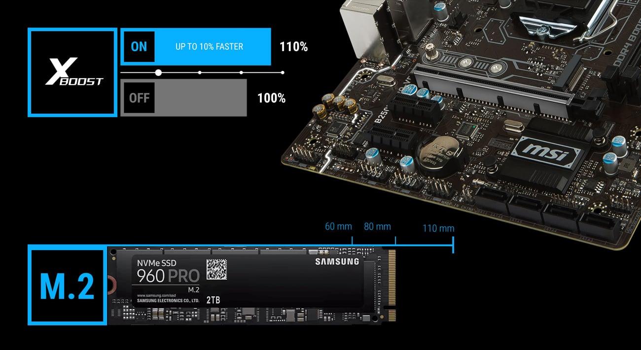 MSI B250M PRO-VD X-Boost M.2