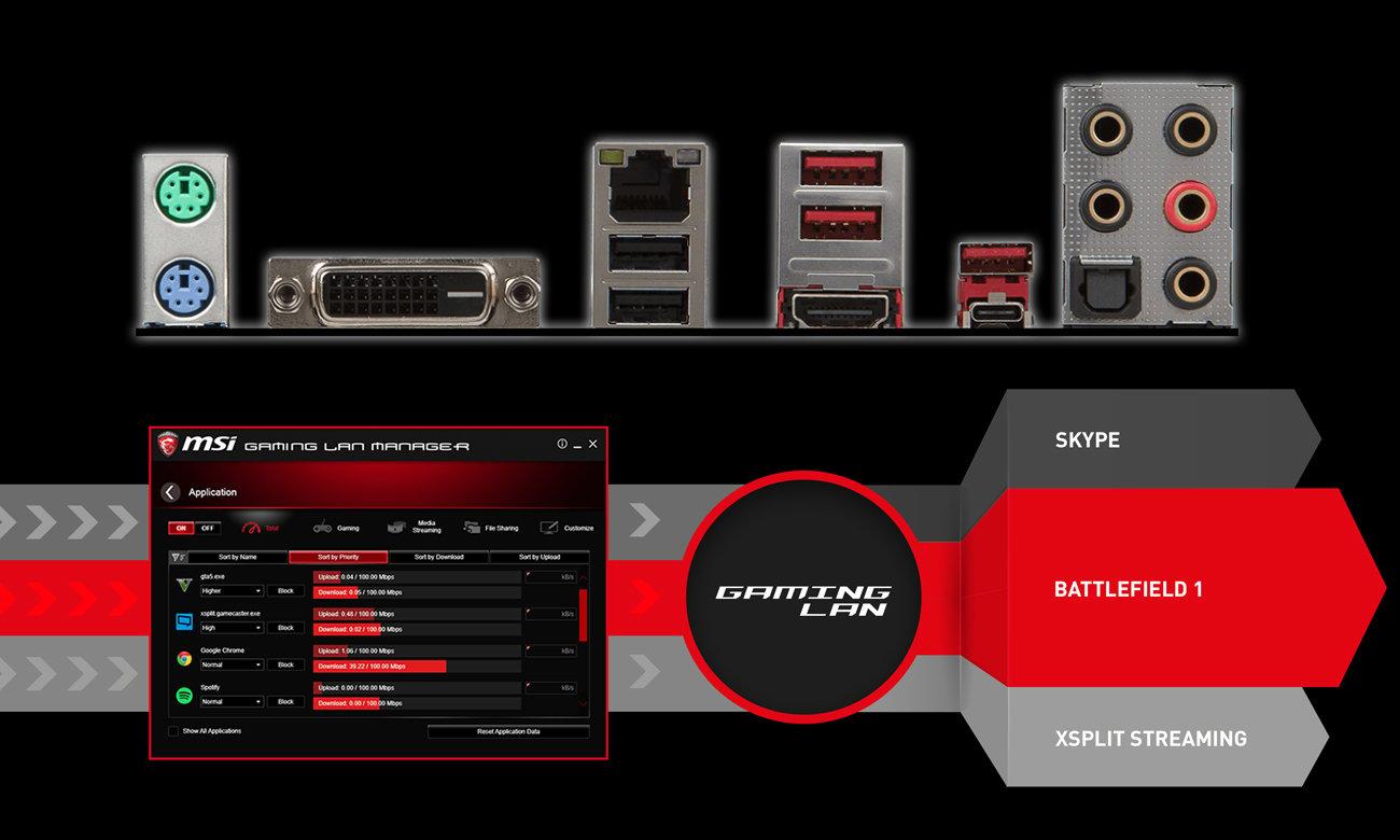 MSI B250M BAZOOKA OPT BOOST Gaming LAN