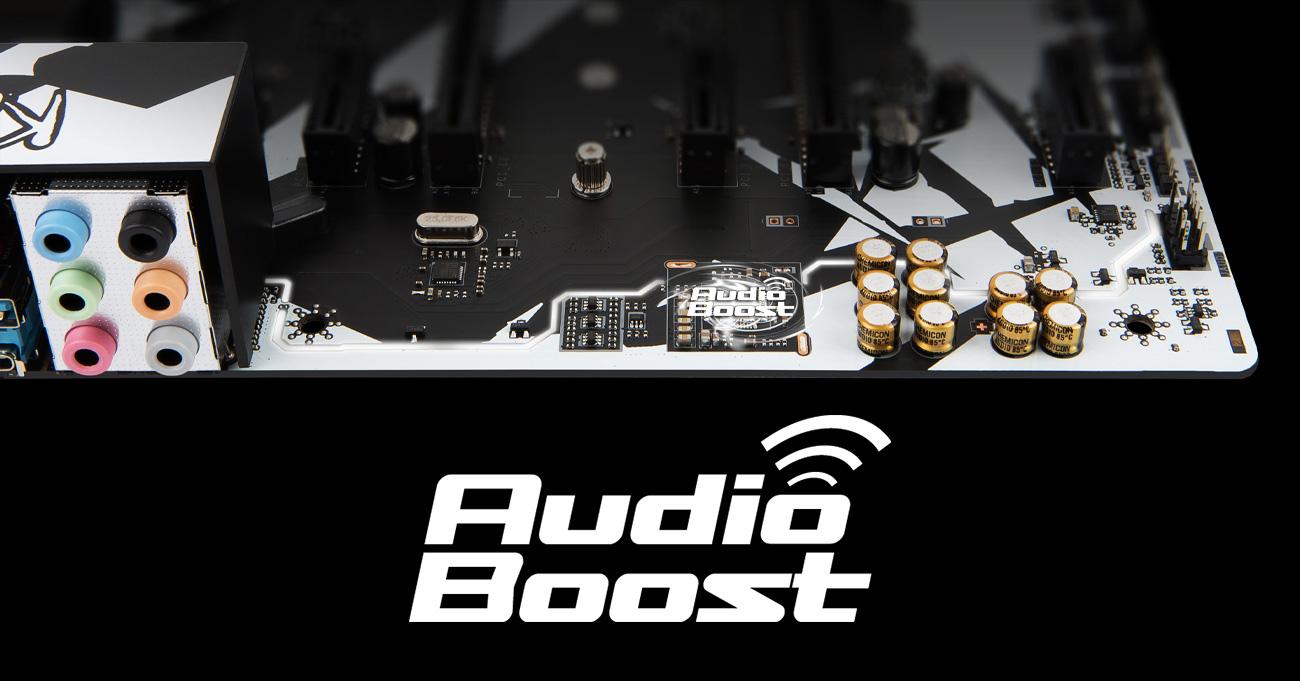 MSI B350 KRAIT GAMING Audio Boost