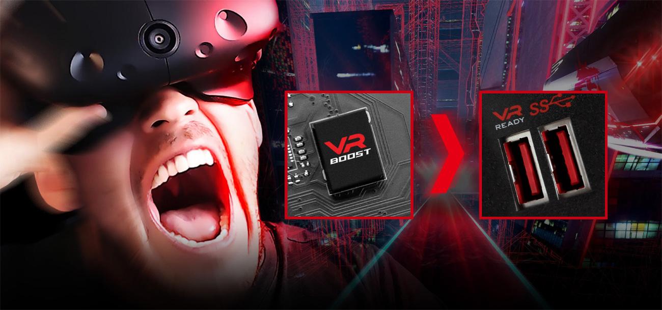 MSI B350 KRAIT GAMING Zgodność z VR