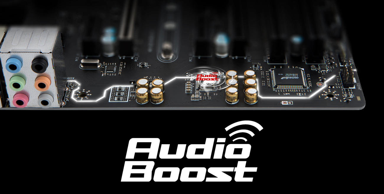 MSI B350 PC MATE System Audio Boost