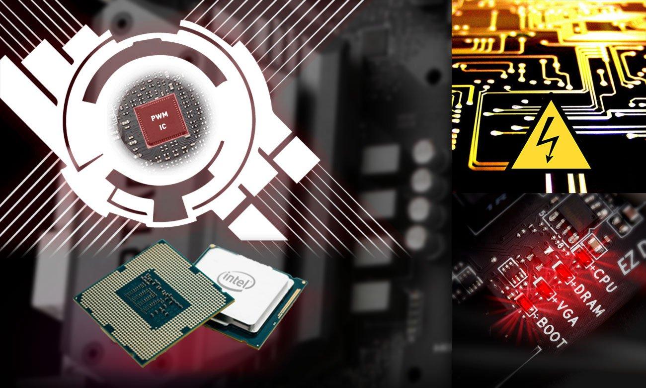 MSI B360-A PRO Technologia CORE BOOST Nieograniczone możliwości dostrajania