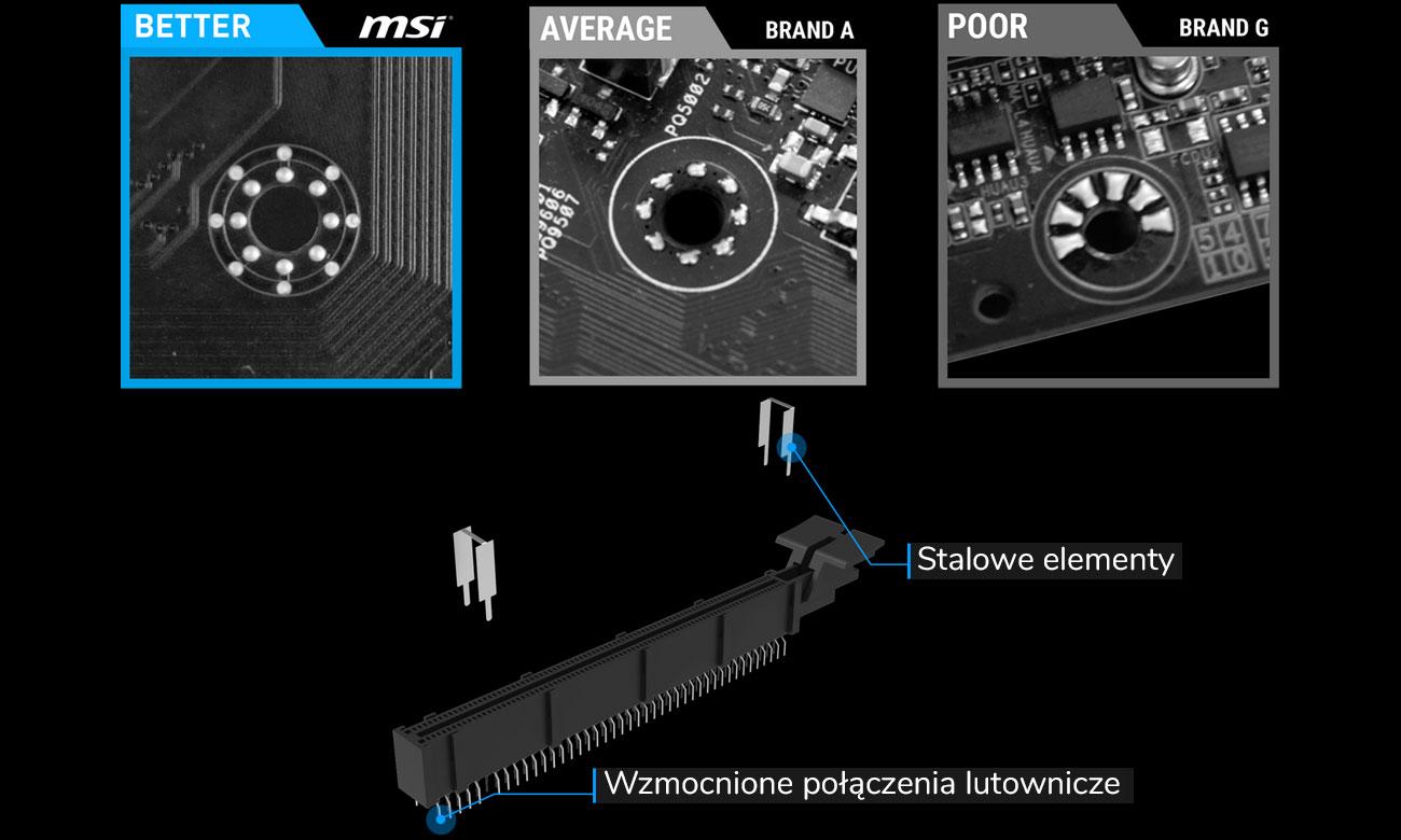 MSI B360-F PRO Najlepsze podzespoły i najnowsze technologie
