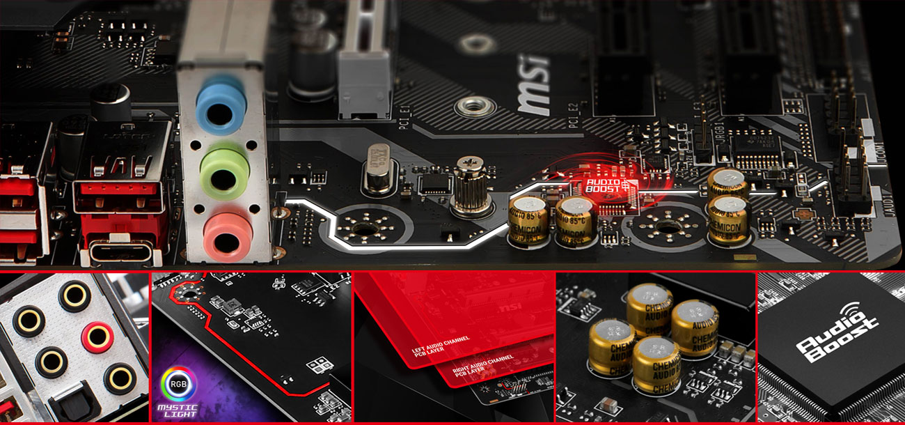 MSI B360M BAZOOKA System Audio Boost