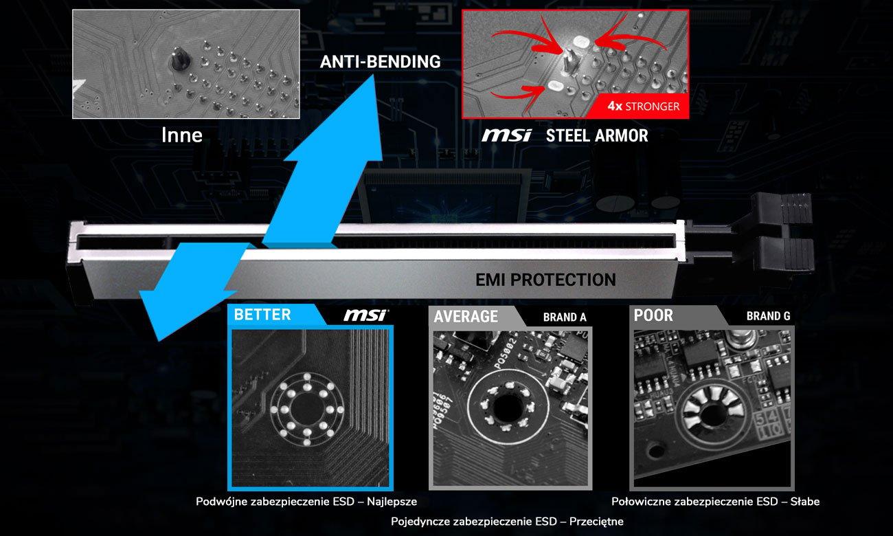 MSI B360M PRO-VDH Postaw na jakość i wytrzymałość