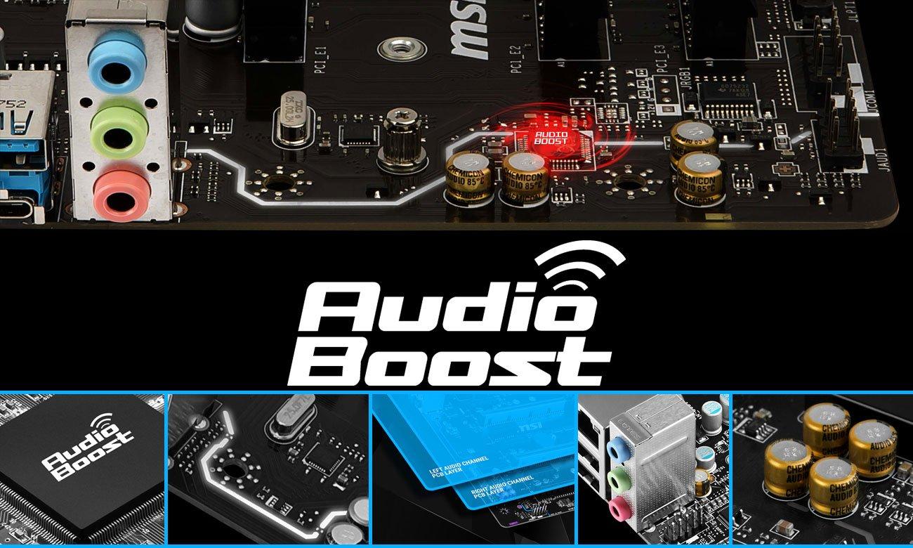MSI B360M PRO-VDH System Audio Boost