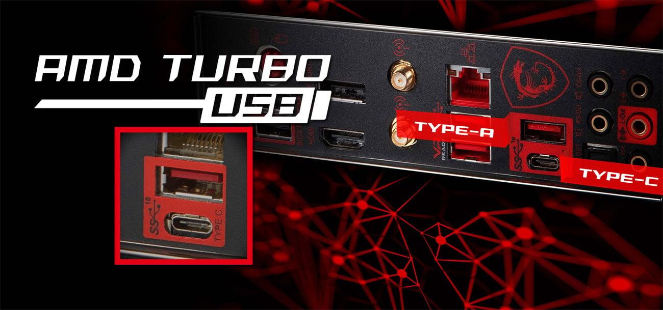 MSI B450 GAMING PRO CARBON AC USB