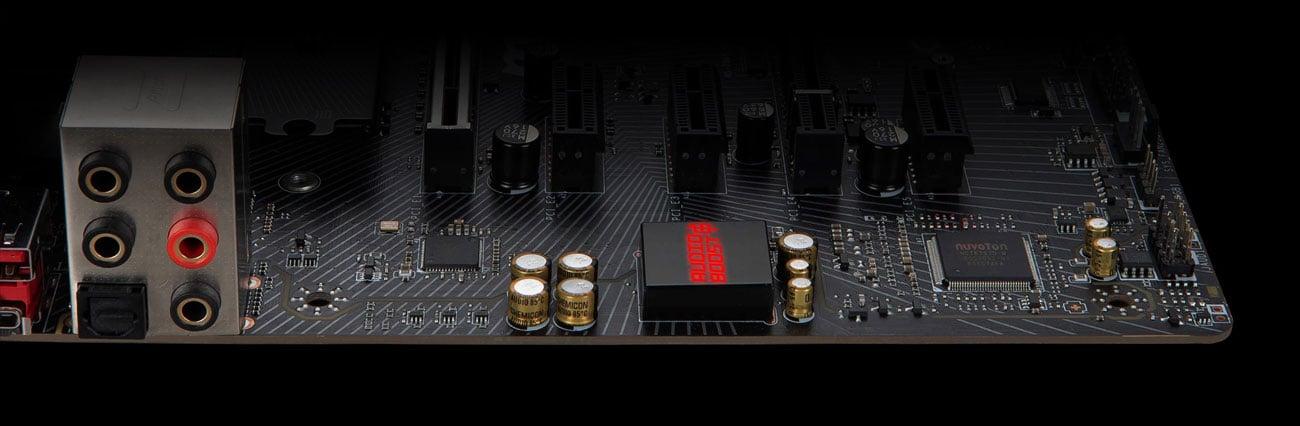MSI B450 GAMING PRO CARBON MAX WIFI - Audio