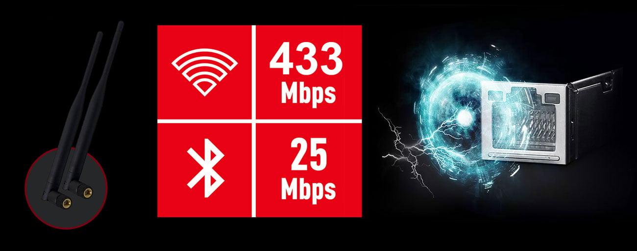 MSI B450I GAMING PLUS AC Internet