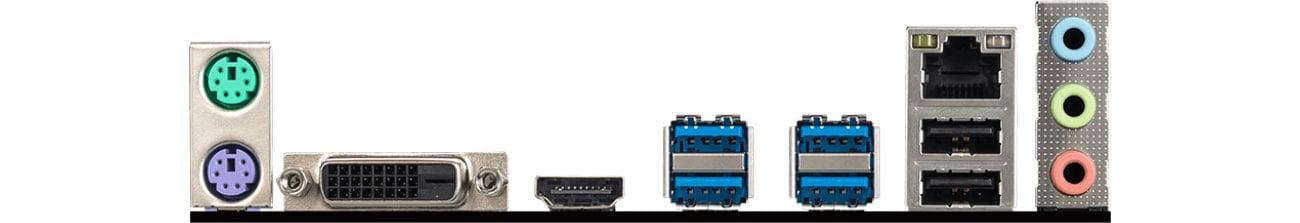 MSI B450M-A PRO MAX - Złącze
