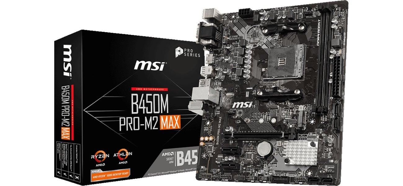 Płyta główna Socket AM4 MSI B450M PRO-M2 MAX