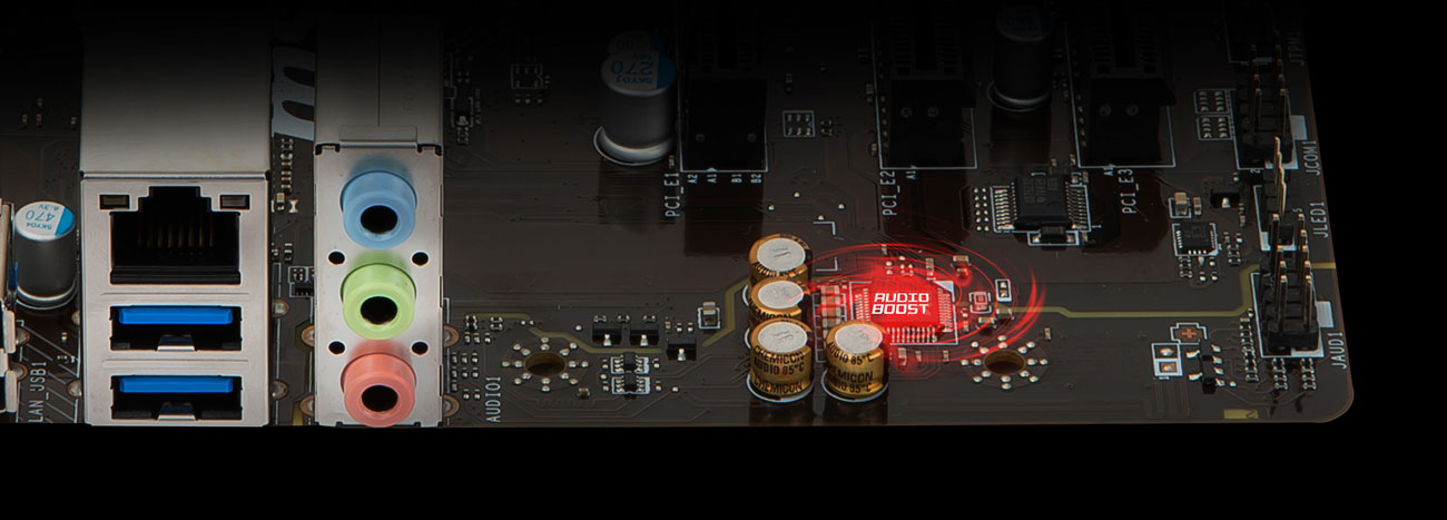 MSI B450M PRO-M2 v2 Audio