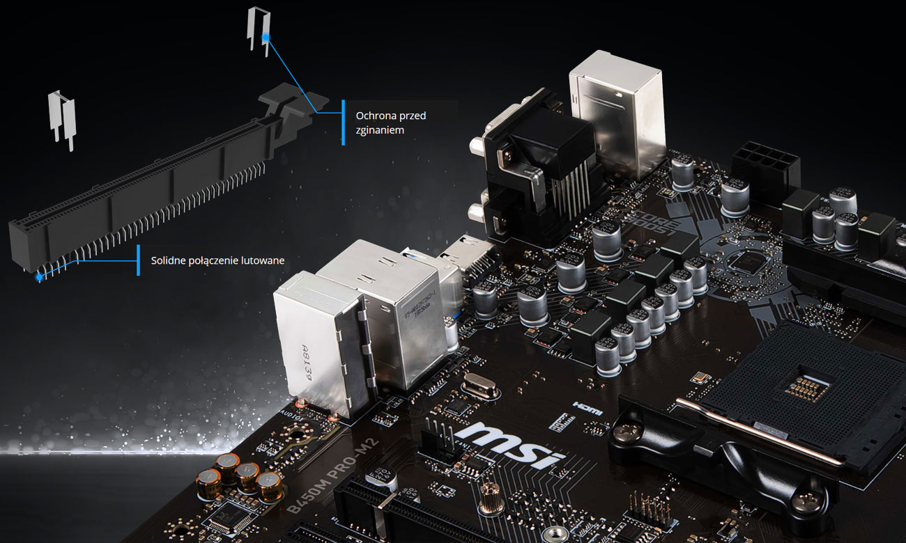 MSI B450M Pro-M2 Jakość która nigdy nie zawiedzie