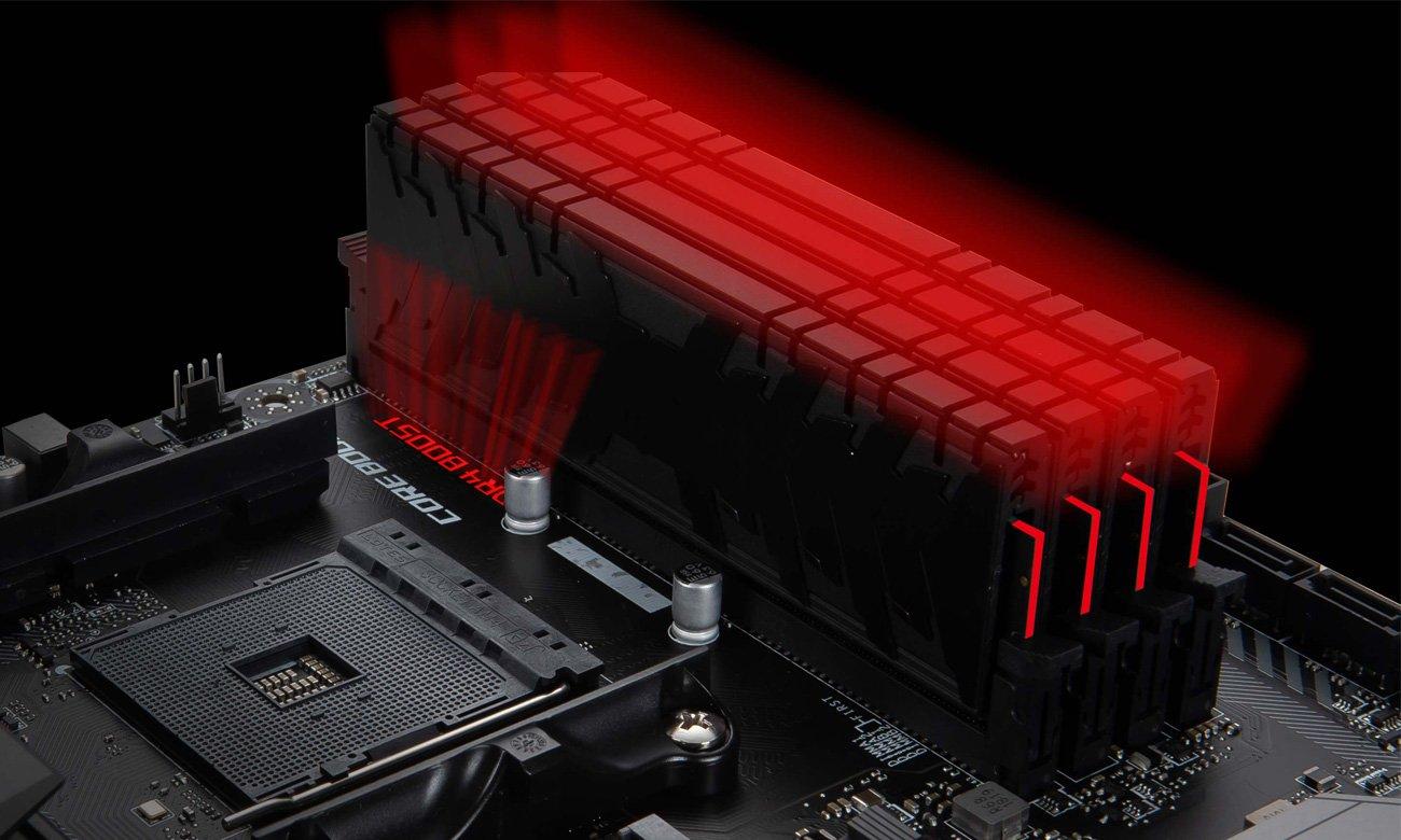 Niezrównana wydajność pamięci DDR4 Boost