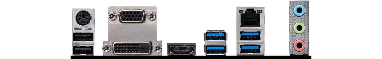 MSI B460M PRO-VDH - Złącza